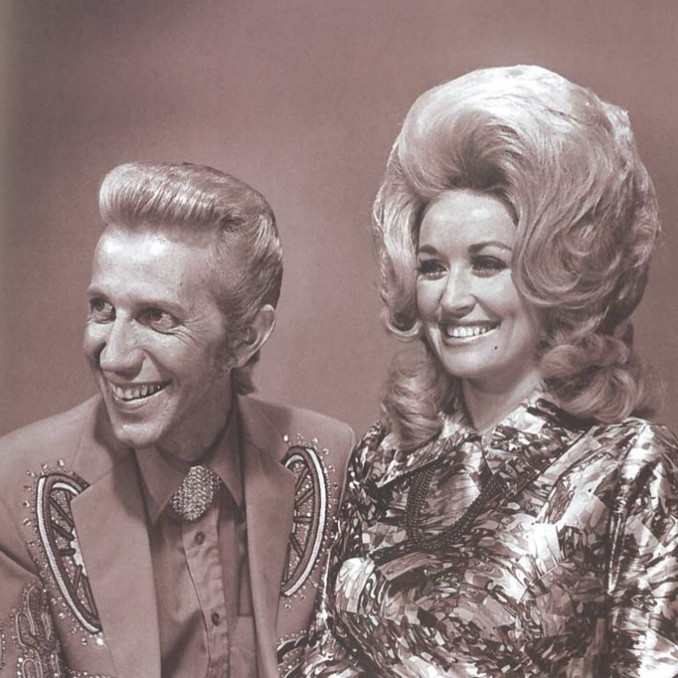 Who had the greatest hair in music straight dope for Porter wagoner porter n dolly