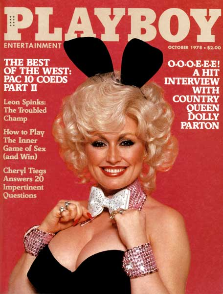 Playboy Magazine Dolly Parton October 1978 Nice!!