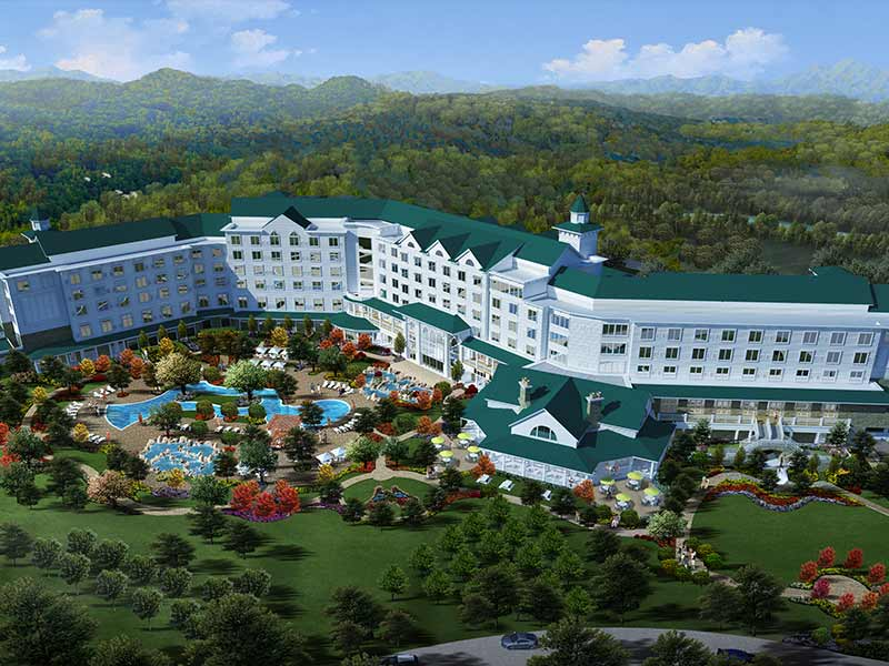 Dollywood S Dreammore Resort In Pigeon Forge Tn