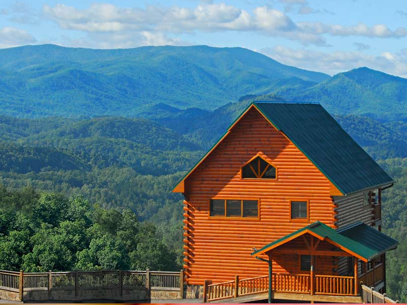 dollywood 39 s smoky mountain cabins opens