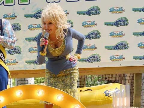 Dolly opens RiverRush