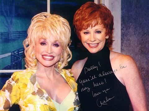 Reba Tv Appearance Dolly Majors Parton