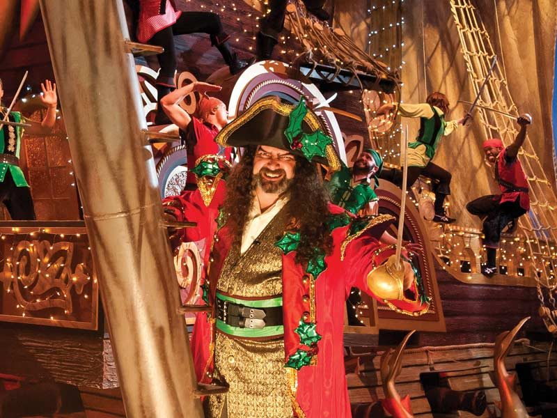Christmas at Pirates Voyage 2014