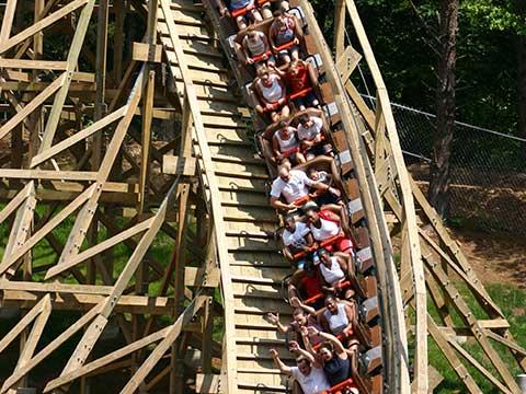 Thunderhead Roller Coaster At Dollywood