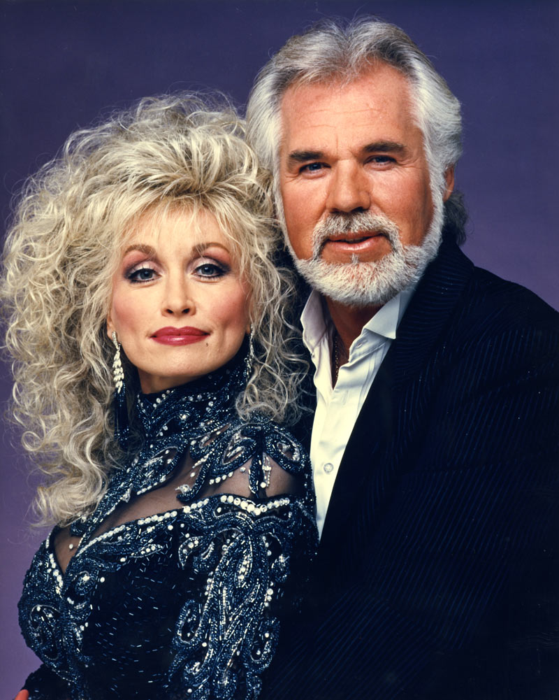 Kenny Rogers and Dolly Parton ca. 1990 Courtesy Kenny Rogers