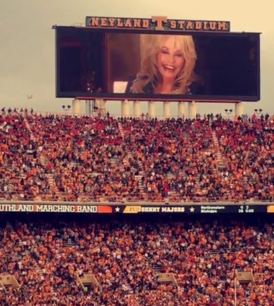 Ut Pride Band Rocks Neyland Stadium With Dolly Parton Hits