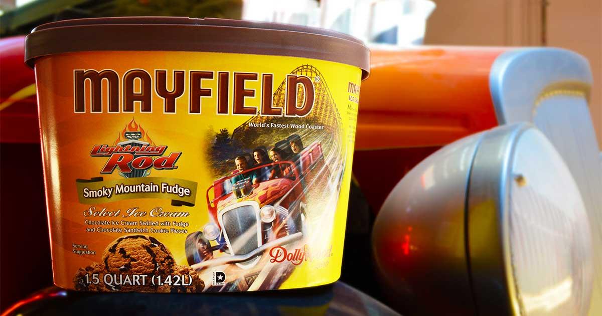 Lightning Rod On Mayfield S Newest Ice Cream Flavor