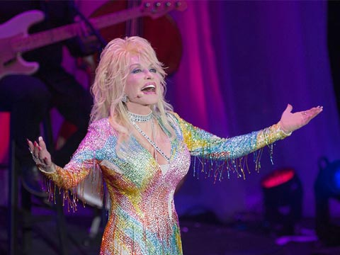 Dolly Parton Concert At LeConte Center In Pigeon Forge, TN