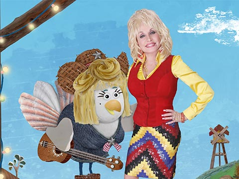 "Dolly Parton As Noleen On ""Lily's Driftwood Bay"""