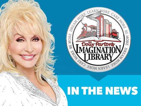 Dolly Parton Promotes Bookbug Week in Scotland