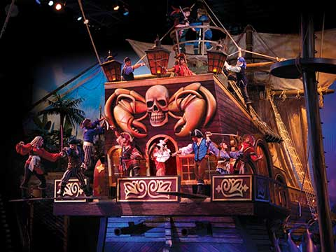 Pirates Voyage Celebrates Five Years in Myrtle Beach