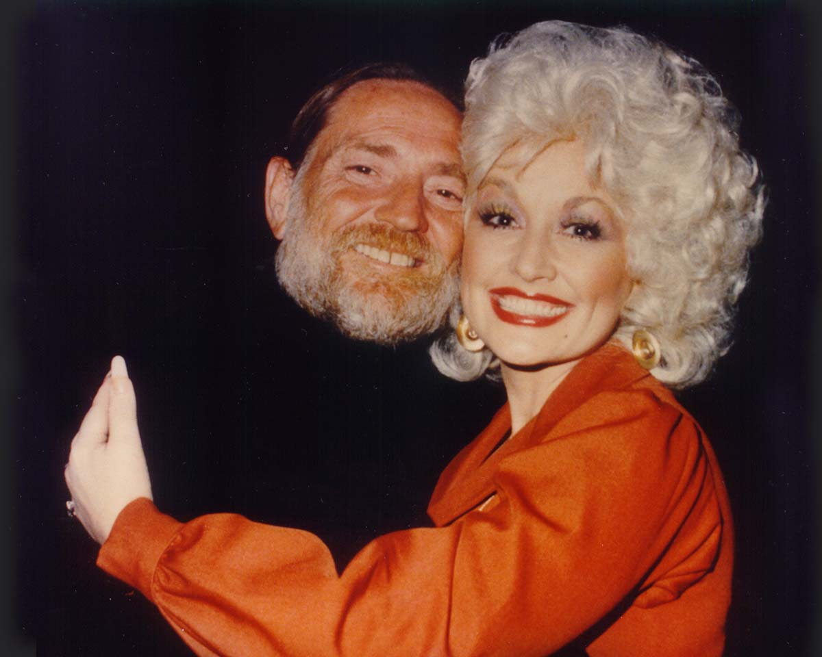 Dolly Parton and Willie Nelson