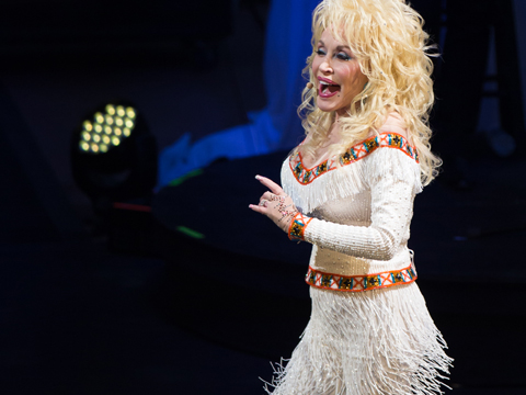 Dolly's Sold-Out Red Rocks Concert