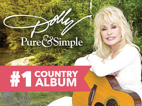 Dolly Parton's Pure & Simple Debuts At #1 Worldwide!