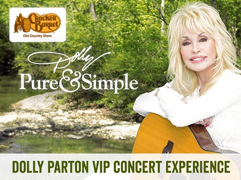 Dolly Parton VIP Concert Experience From Cracker Barrel