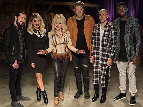 "New ""Jolene"" Cover By Pentatonix Featuring Dolly Parton"