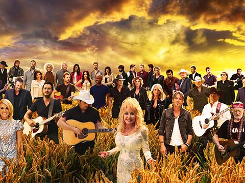 """CMA 50th """"Forever Country"""" Epic Video Featuring Dolly Parton"""