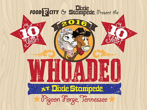 """Whoadeo"" At Dixie Stampede – Oct. 1"