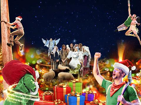 Lumberjack Adventure Debuts New Christmas Show