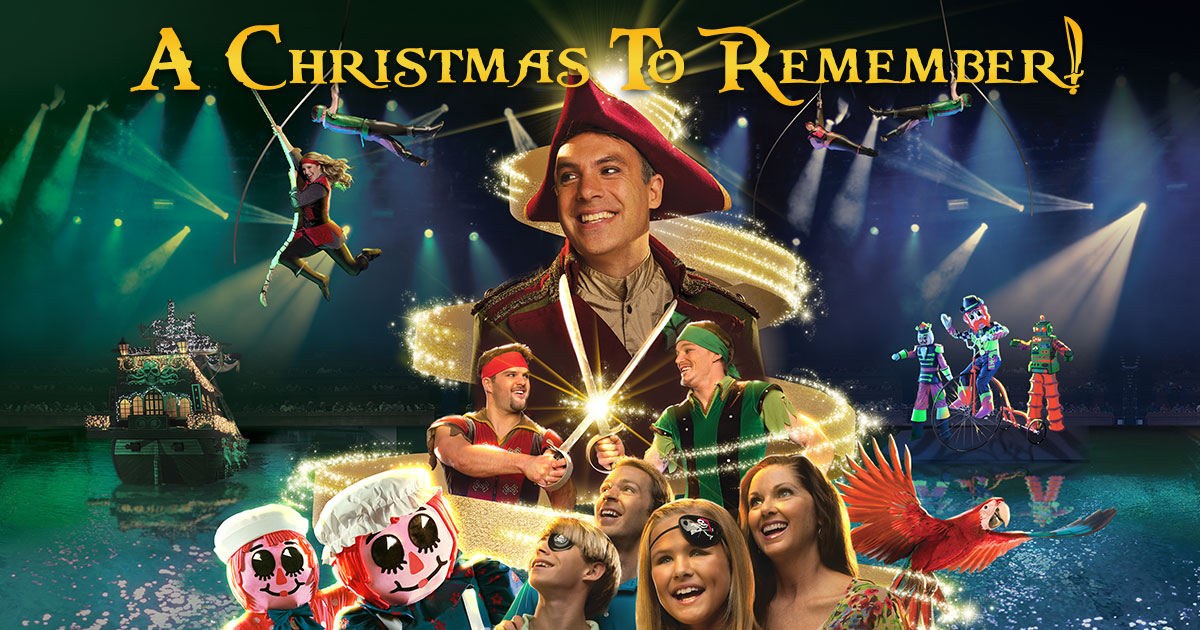 A Christmas To Remember.Pirates Voyage Presents A Christmas To Remember