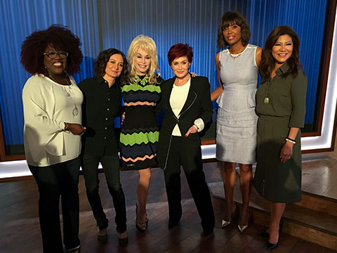 "Dolly Parton Returns To ABC's ""The Talk"""