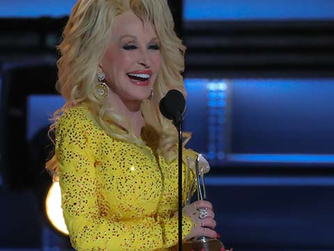 Dolly Parton Receives Lifetime Achievement Award at CMAs