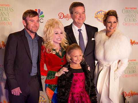 Video: The Stars Were Out At Dollywood's Red Carpet Event
