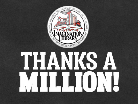 Imagination Library Tops One Million Facebook Followers