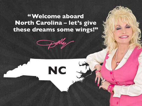North Carolina Approves Dolly Parton's Imagination Library Statewide