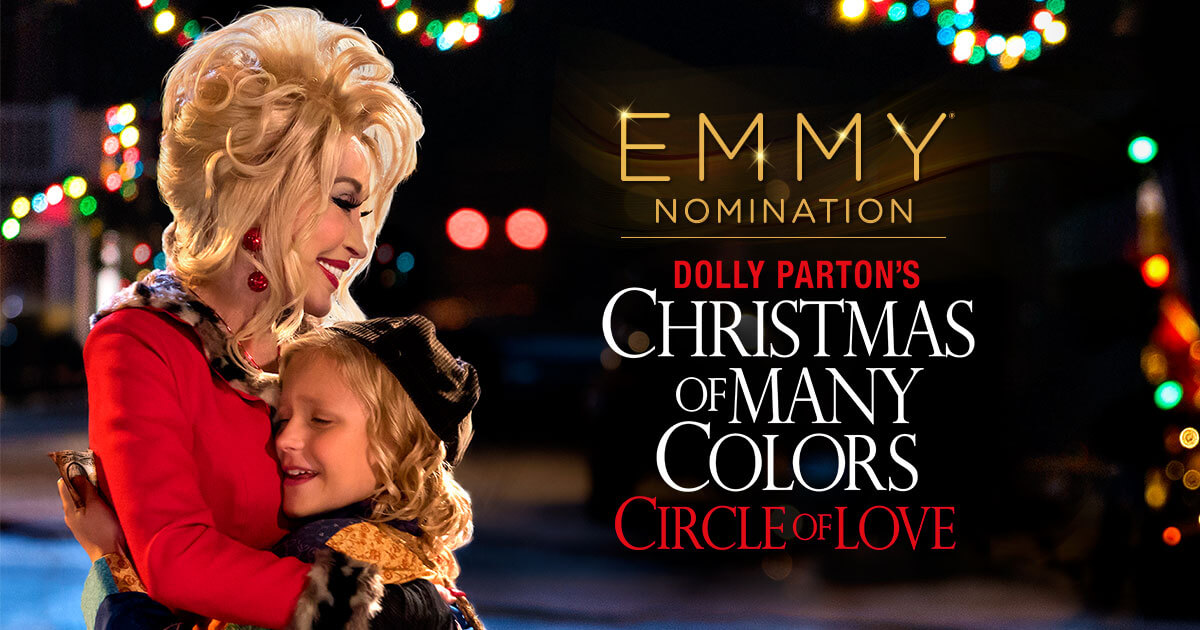 Nbc Christmas Of Many Colors.Dolly Parton S Christmas Of Many Colors Nominated For Emmy