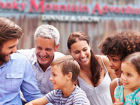 Family Reunions At Smoky Mountain Adventures
