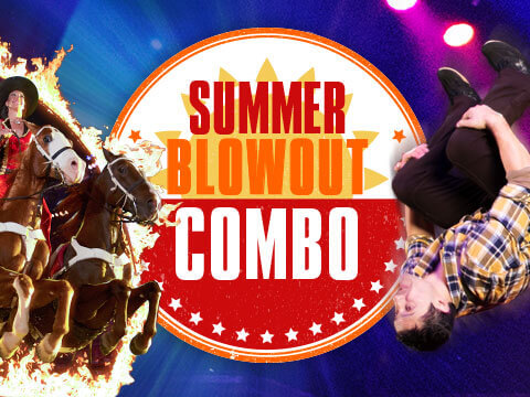 Smoky Mountain Adventures + Dixie Stampede Summer Blowout Combo