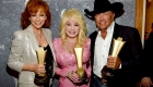 Reba McEntire, Dolly Parton and George StraitPhoto Credit: Getty Images for ACM