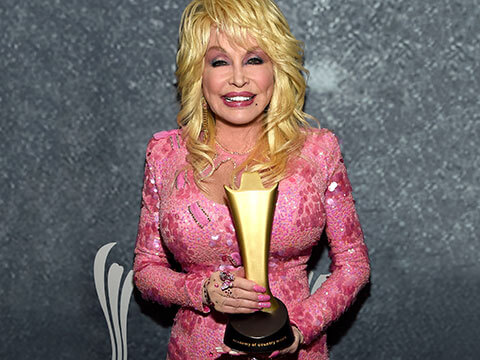 ACM Honors Dolly Parton With The Gary Haber Lifting Lives Award