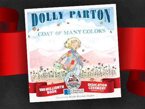 Dolly Parton's Imagination Library's 100 Millionth Book Dedicated To Library Of Congress, New Story Time Announced