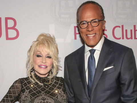 Dolly Parton Honored With Bill Rosendahl Public Service Award At LA Press Club Annual Gala