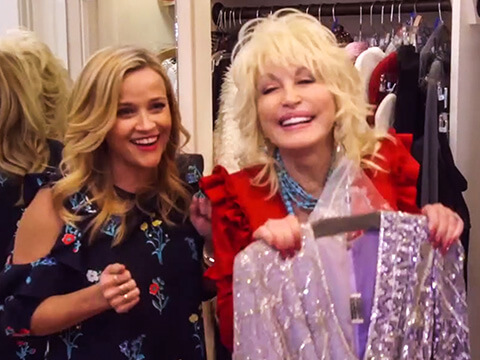 "Dolly Parton Is First Guest On Reese Witherspoon's ""Shine On with Reese"""