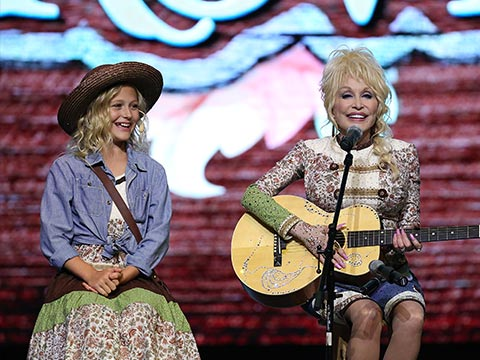 Dolly Parton and Alyvia Alyn Lind Team Up For Epic Dollywood Expansion Announcement