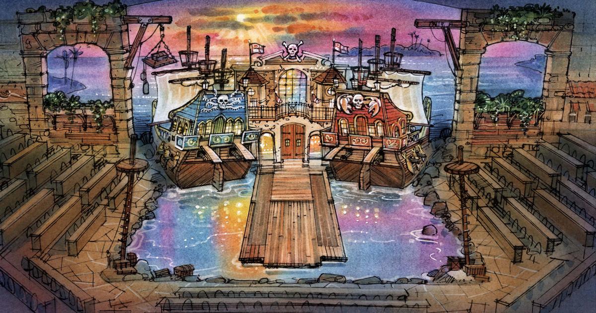 Pirates Voyage Dinner Show In Myrtle