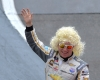 NASCAR Xfinity Series driver Tyler Reddick in Dolly Parton and Dollywood Sponsored NASCAR at BMS Photo Credit: Bristol Herald Courier, David Crigger.