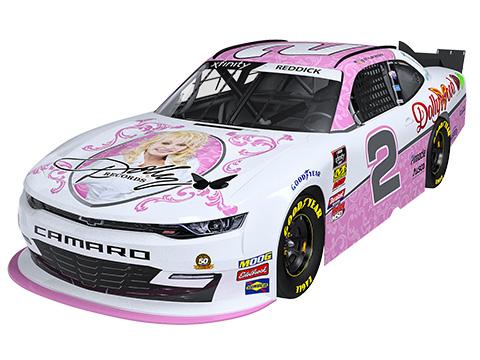 Dolly Parton Sponsors NASCAR Xfinity Series Team At Alsco 300 At Bristol Motor Speedway