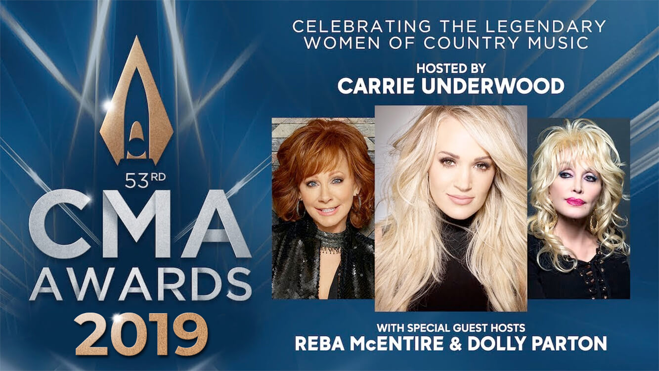 Reba Mcentire Christmas Guest.Dolly Parton And Reba Mcentire Join Carrie Underwood In