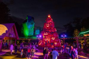 Dollywood's Great Pumpkin LumiNights won USA TODAY's 10Best Reader's Choice 2019 Travel Award for Best Theme Park Halloween Event