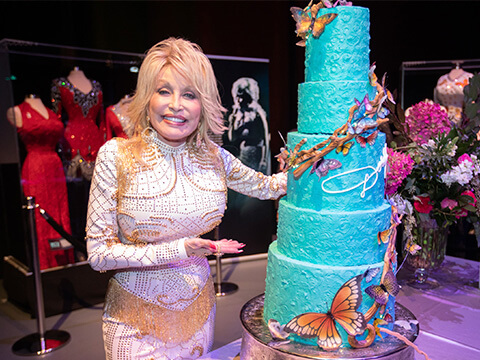 Grand Ole Opry Celebrates Dolly Parton's 50th Anniversary Of Opry Membership