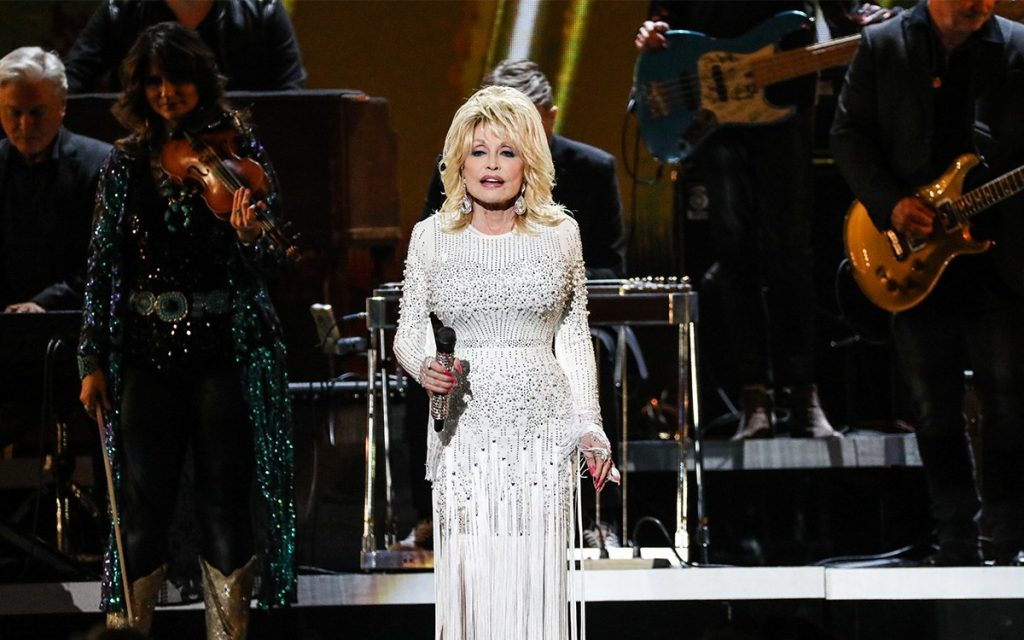 "Dolly Parton at ""The 53rd Annual CMA Awards"" Photo Credit: Curtis Hilbun"