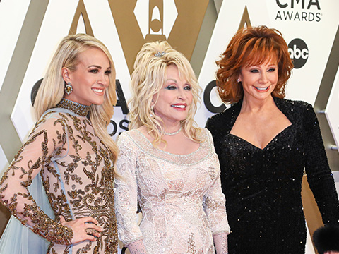 CMA's Outstanding Celebration Of Women Hosted By Dolly, Reba & Carrie