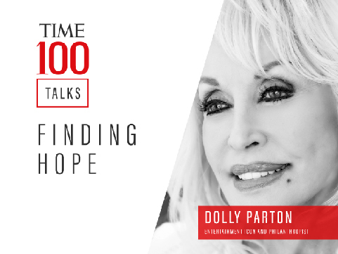 """Dolly Parton Premiers New Song & Music Video On """"TIME100 Talks: Finding Hope"""""""