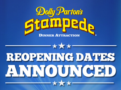 Dolly Parton's Stampede Announces Reopening Dates