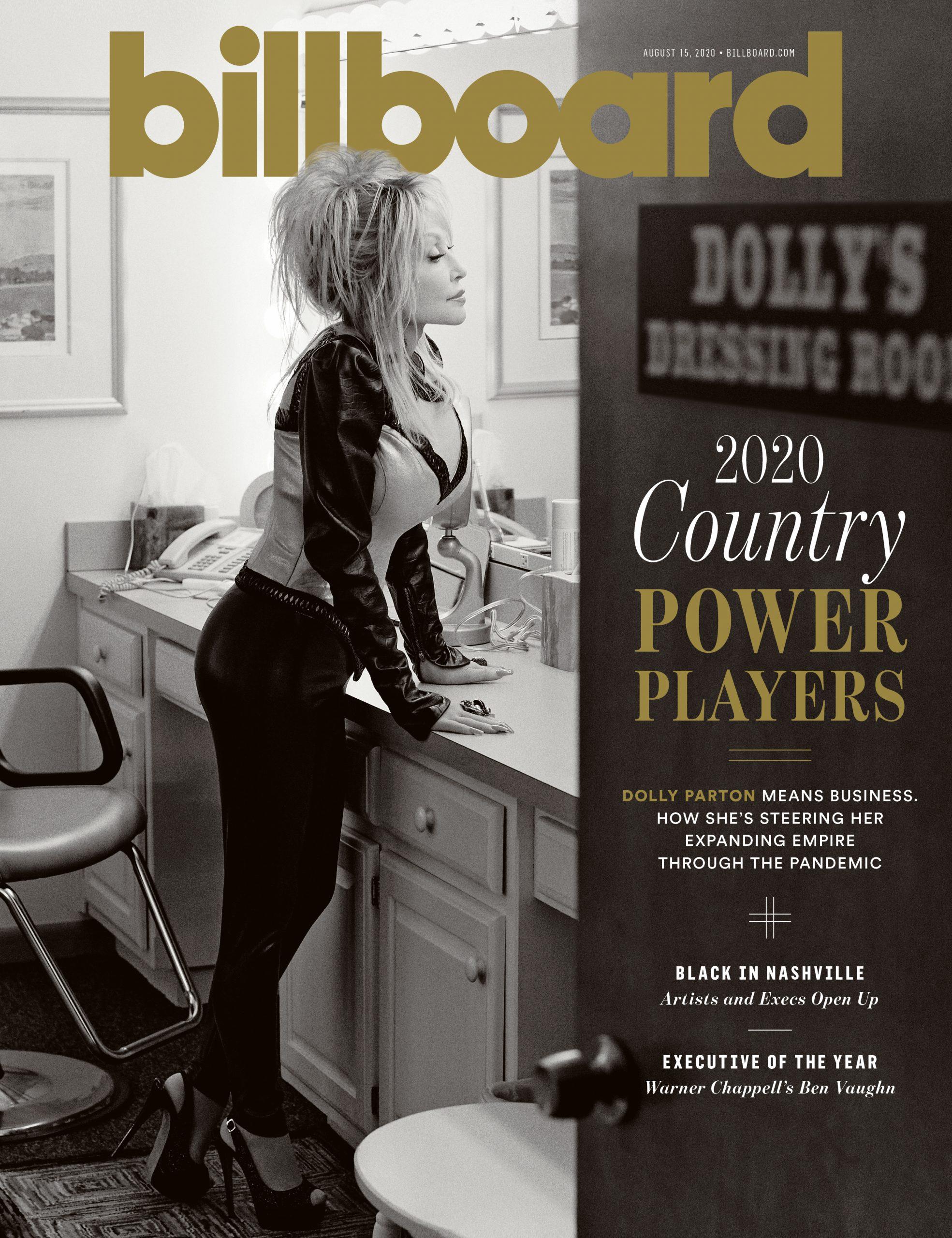 Dolly Parton's Billboard Cover