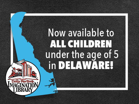 Dolly Parton's Imagination Library Goes Statewide In Delaware